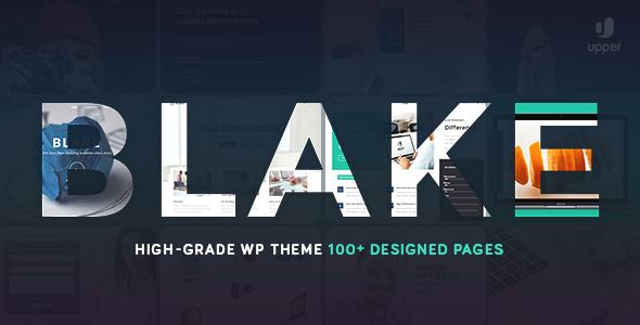 Nice Blake   High-Grade MultiPurpose WordPress Theme