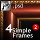 Simple Frames Pack 2 - GraphicRiver Item for Sale