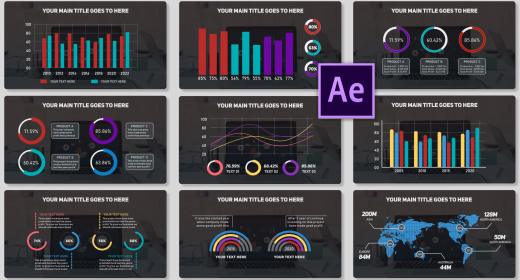 After Effects Infographic