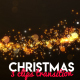Christmas Light Transitions - VideoHive Item for Sale