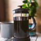 Making coffee in french press. - PhotoDune Item for Sale