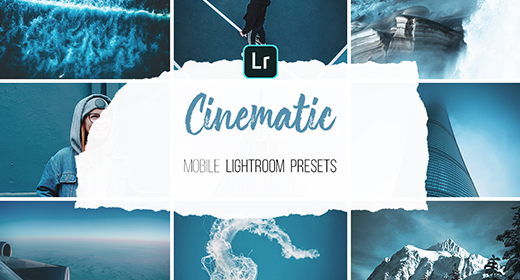 Mobile Lightroom Presets - Cinematic