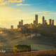 San Gimignano town skyline and medieval towers sunset. Tuscany, - PhotoDune Item for Sale