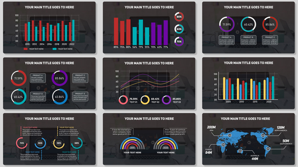 Minimalisic Infographic MOGRT