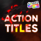 Action Titles Pack | FCPX - VideoHive Item for Sale