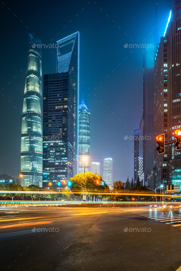 night traffic - Stock Photo - Images