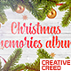 Christmas Memories / Winter Holidays Photo Album / New Year Greetings / Xmas Slideshow - VideoHive Item for Sale
