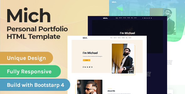 Special MIch - Resume HTML Template