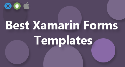 Best Templates with Xamarin Forms