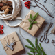 Zero waste Christmas concept. Natural Chirsmas decoration and Hand crafted gifts without plastic - PhotoDune Item for Sale