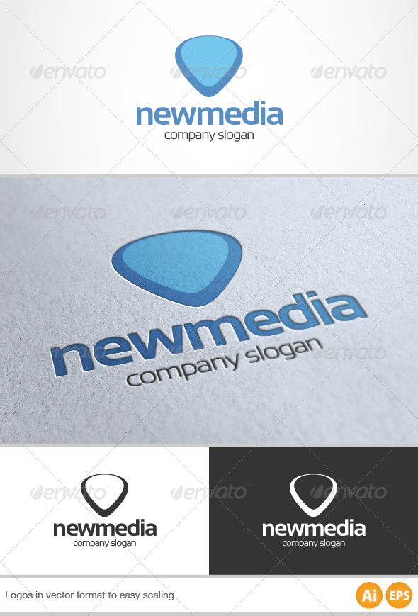 New Media Logo - Symbols Logo Templates