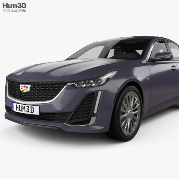Cadillac CT5 2020 By Humster3d