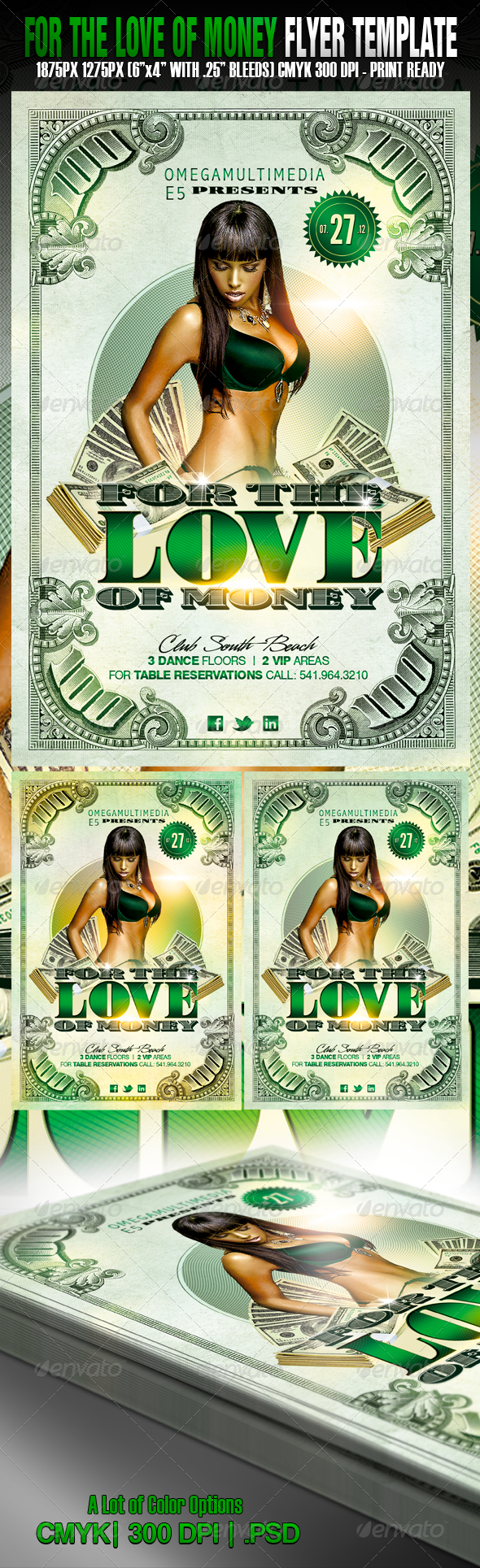 For The Love of Money - Clubs & Parties Events