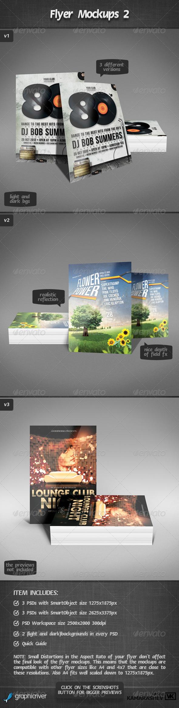 Flyer Mockups 2 - Flyers Print