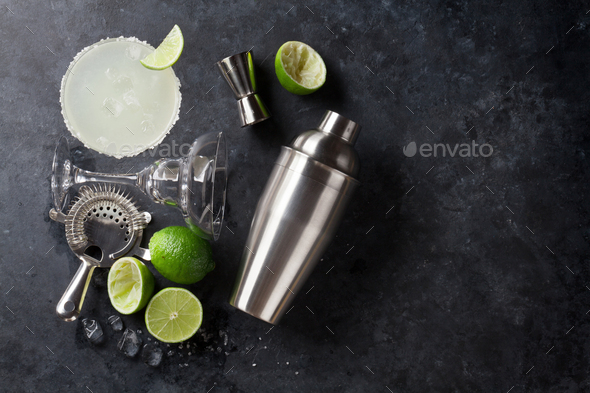 Margarita cocktail - Stock Photo - Images