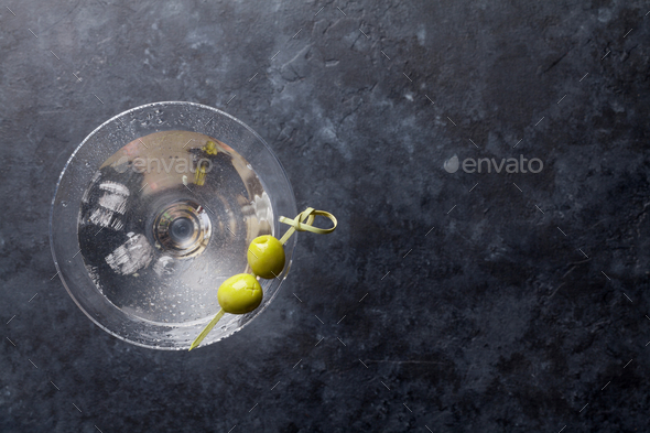 Martini cocktail - Stock Photo - Images