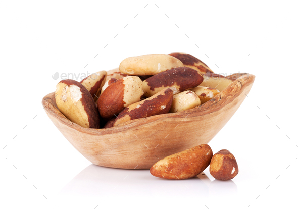 Brazilian nuts - Stock Photo - Images