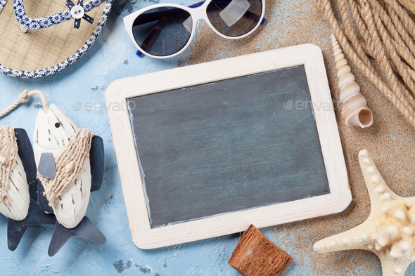 Beach accessories - Stock Photo - Images