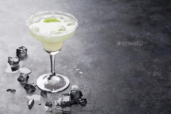 Margarita cocktail - Stock Photo - Images