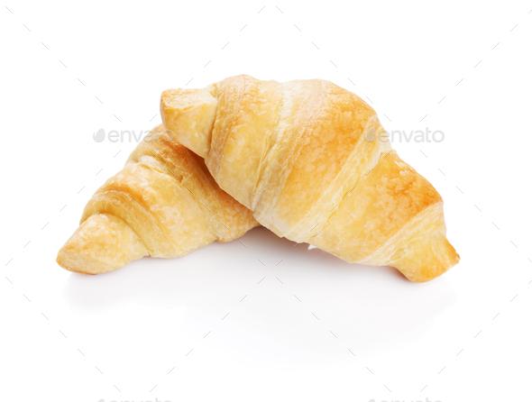 Fresh croissants - Stock Photo - Images