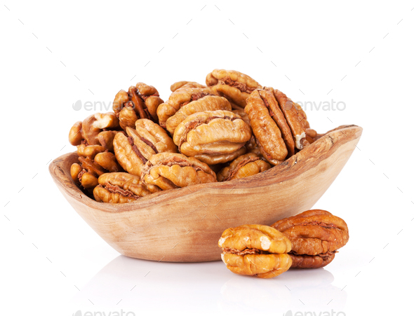 Pecan nuts - Stock Photo - Images
