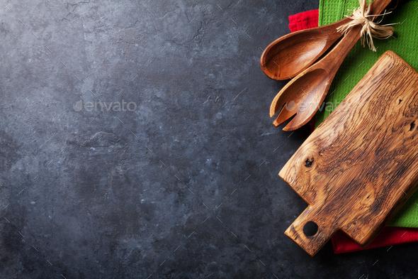 Old vintage kitchen utensils - Stock Photo - Images