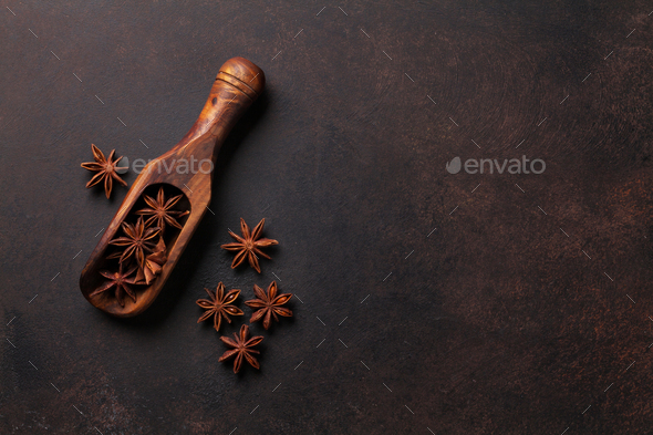 Star anise - Stock Photo - Images