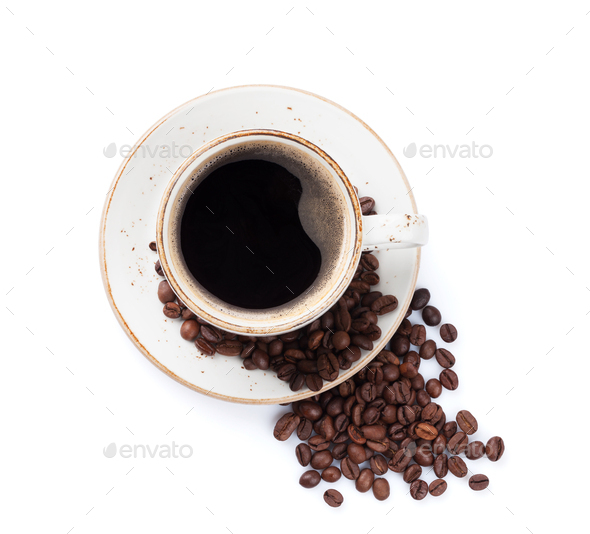 Coffee cup - Stock Photo - Images