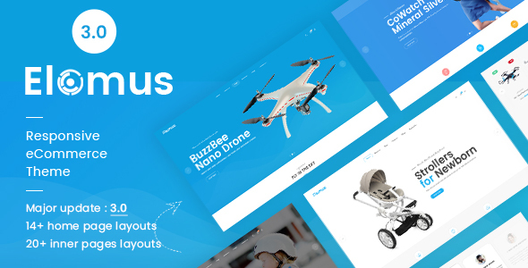 Elomus - Single Product Shopify Theme