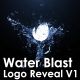 Water Blast Logo Reveal V1 - VideoHive Item for Sale