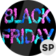 Colorful Black Friday Smoke Text Ver.1