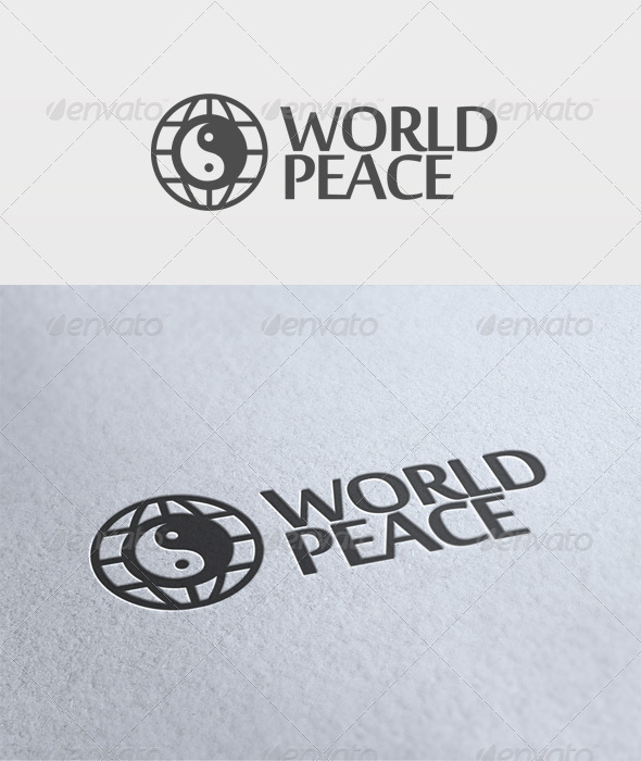 World Peace Logo - Symbols Logo Templates
