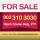 Real Estate Yard Sign - GraphicRiver Item for Sale
