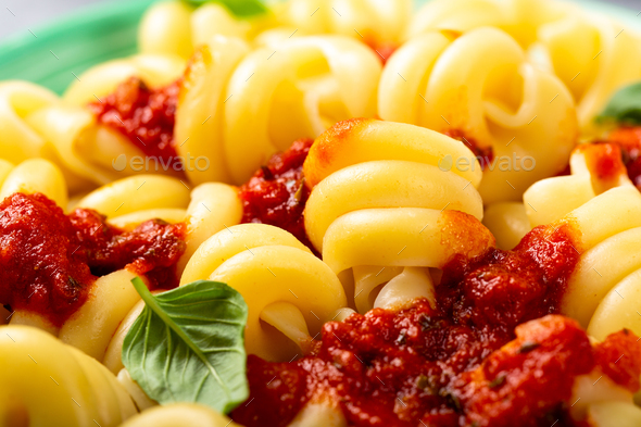 Homemade whole grain pasta Trattole - Stock Photo - Images