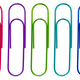 Isolated Multicolored Paperclips - PhotoDune Item for Sale