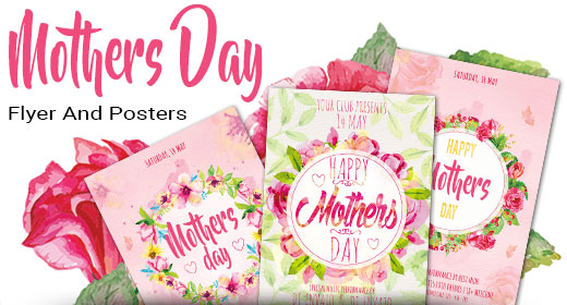 Mothers Day Flyer And Posters