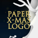 Christmas & New Year Paper Logo - VideoHive Item for Sale