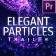 Particles Titles - Premiere Pro | Mogrt - VideoHive Item for Sale