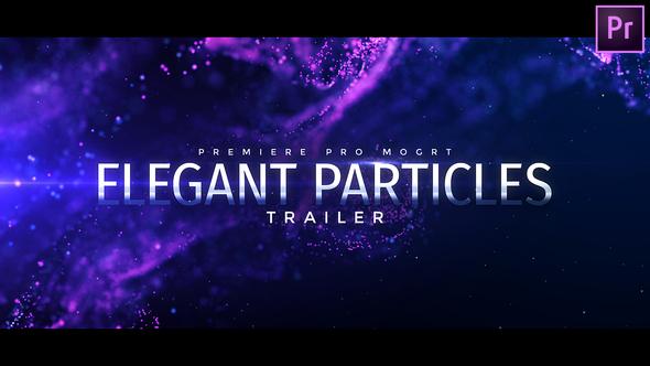 Particles Titles – Premiere Pro | Mogrt