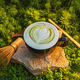 Cup of matcha green tea latte - PhotoDune Item for Sale