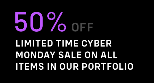 Limited Time Cyber Monday Offer