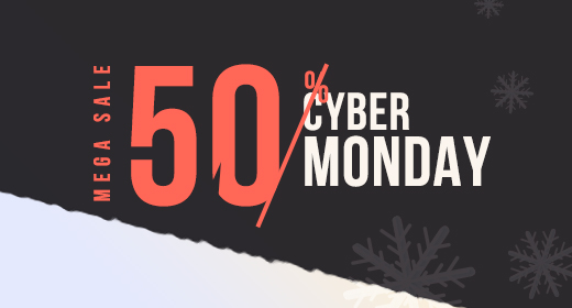 2019's Cyber Monday - 50% OFF - Themelexus