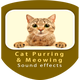 Cat Purring and Meowing Sounds