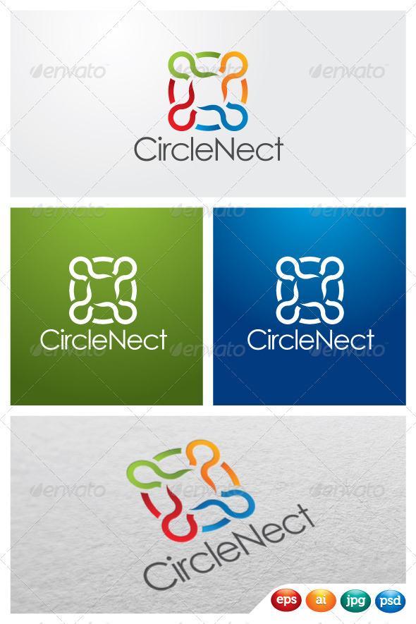 CircleNect - Symbols Logo Templates
