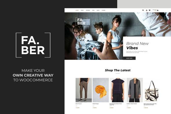 Faber -  Fashion & Clothing Shop for Woocommerce by plethorathemes