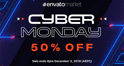 Black Friday + Cyber Monday 50% Off