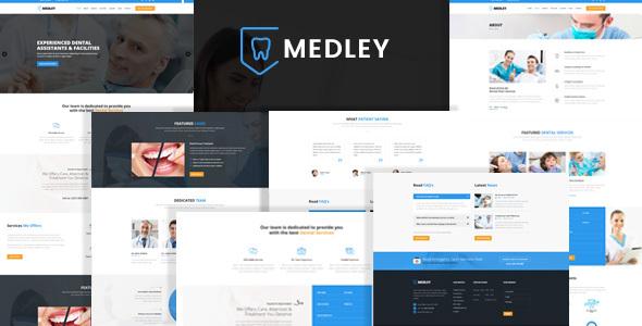 Medley - Dental Clinic HTML Template