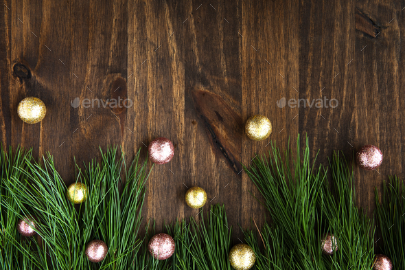 Christmas Banner with Copy Space - Stock Photo - Images