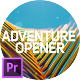 Adventure Opener for Premiere Pro - VideoHive Item for Sale