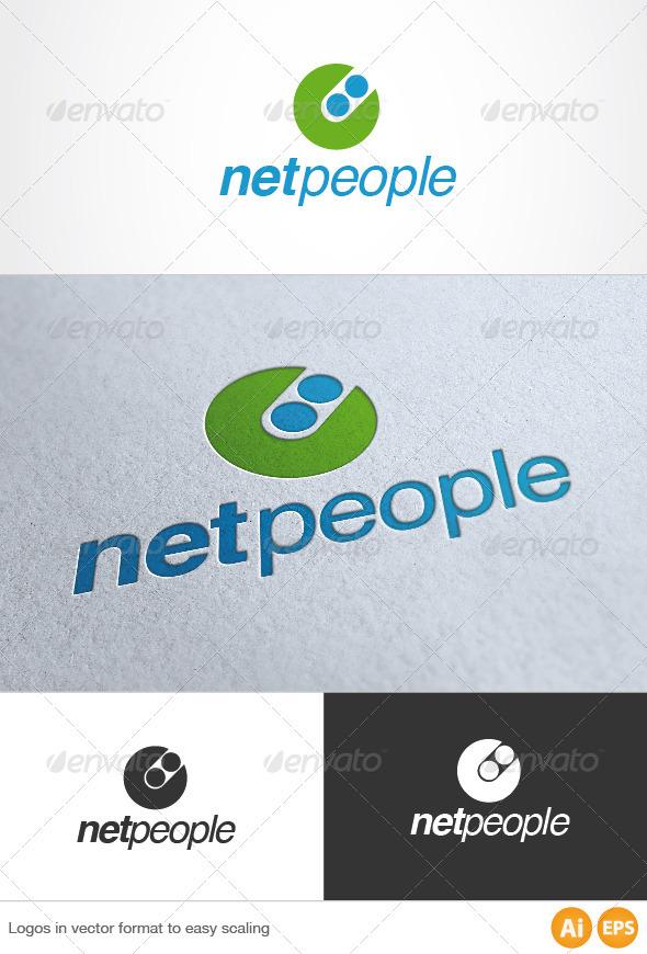 Net People Logo - Symbols Logo Templates